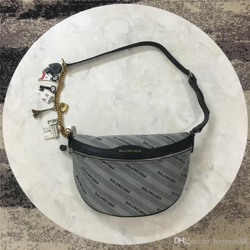 2019 moda Moda hakiki deri erkek ve kadın moda çanta crossbody kemer çanta tasarımcıları bel çantası Yüksek kaliteli bel çantaları tasarımcılar