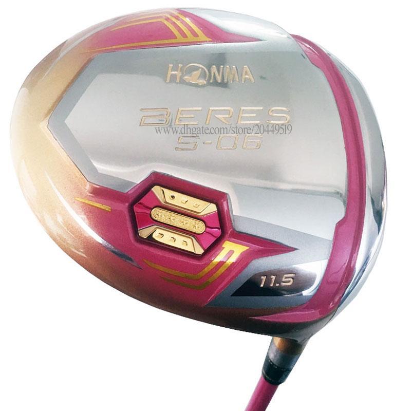 Nuove Donne Golf Clubs Honma S-06 Driver 11.5 Loft 4Star Golf Driver Graphite Shaft L Golf Shaft Spedizione gratuita