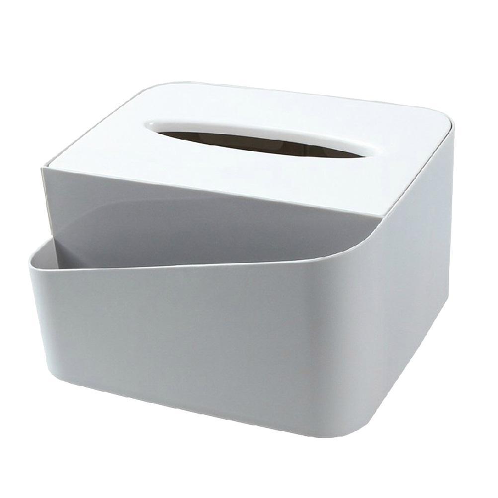 1 unid Multifunción Tissue Box Misceláneas Control Remoto de Plástico Titular Organizador Contenedor