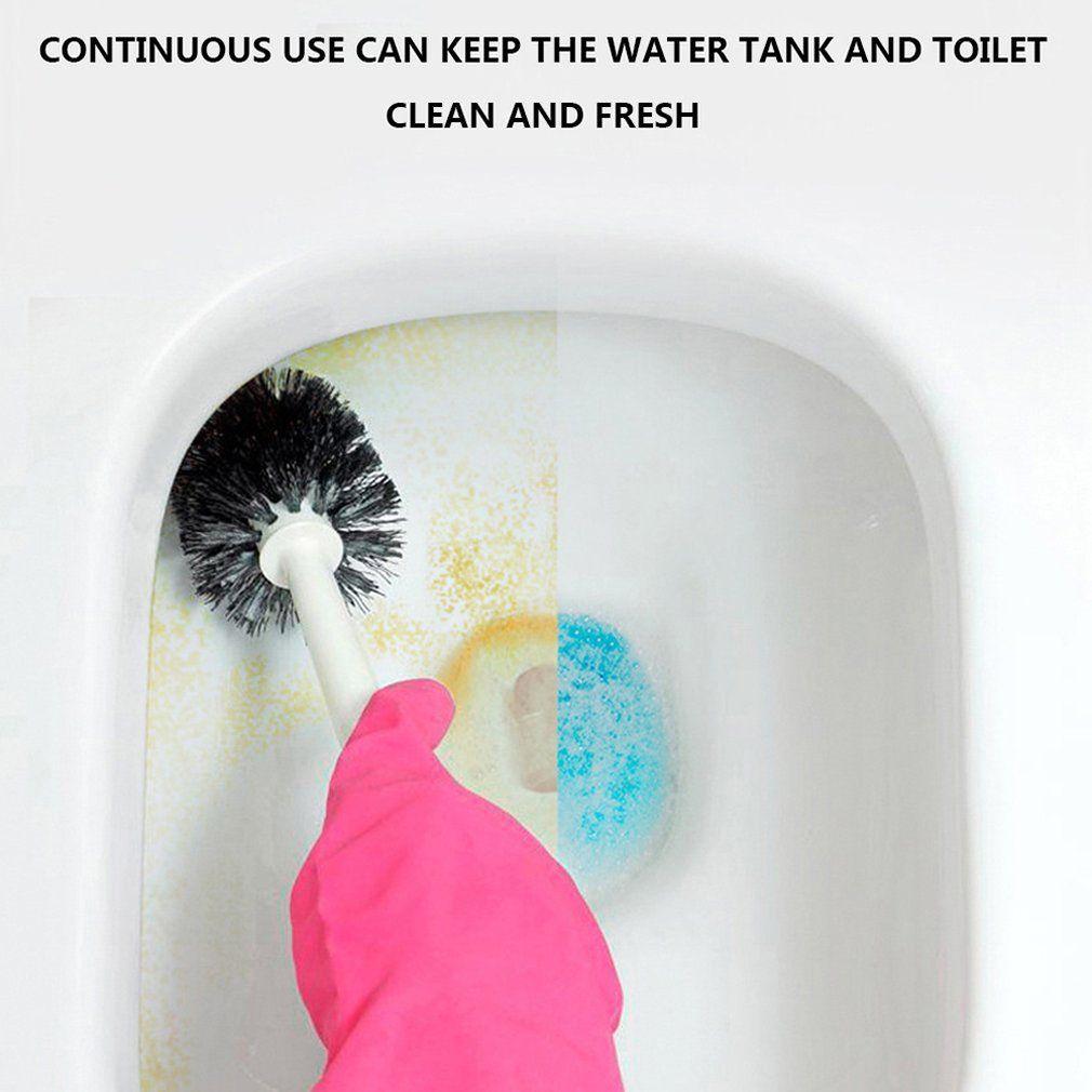 Prevention Plant Extract Yellow Scale Fresh Active Factor Non-toxic Bear Blue Bubble Toilet Deodorant Toilet Liquiddiscount