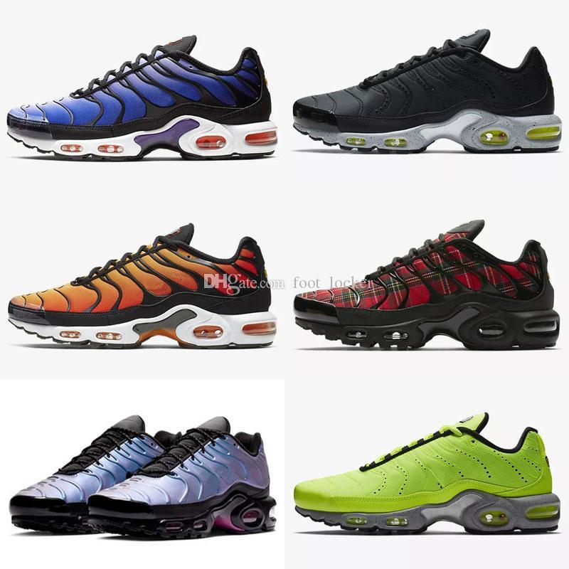 2019 TN Plus Zapatos Nuevos diseños Moda para niños Mens TN Ultra SE Barato PLUS TN CHAUSSURS REQUIN DESHOME HOMME SPORTS ENTRADORES NOIR ZAPATILLES