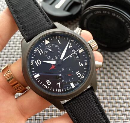 newclassic мода бесплатная доставка наручные часы хронограф черный корпус часы из нержавеющей стали японский OS кварцевый механизм спортивные мужские мужские часы