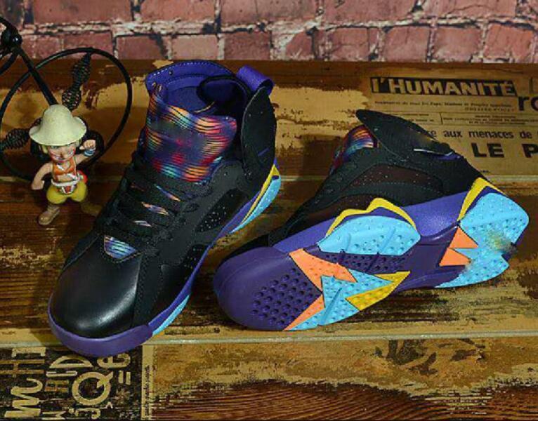 Venta caliente 7 VII 7s baloncesto Zapatos Mujer Hombre J7 zapatillas de deporte auténtico Zapatos nada pero red Olímpicos Mujer del cigarro Deportes J7 5,5-13 a7