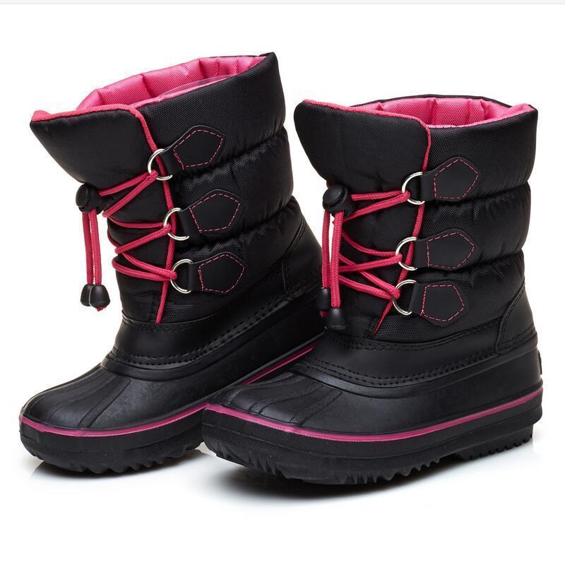 Großhandel Schnee Stiefel Für Baby Mode Slip On Mädchen 30