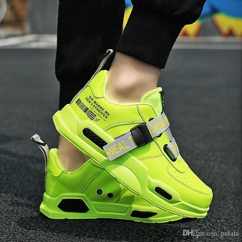 Sıcak Erkekler Tasarımcı Günlük Ayakkabılar Marka Sneakers İçin Erkekler Işık Açık Yürüyüş Man Moda Ayakkabılar Tenis Masculino Ayakkabı Zapatillas Hombre
