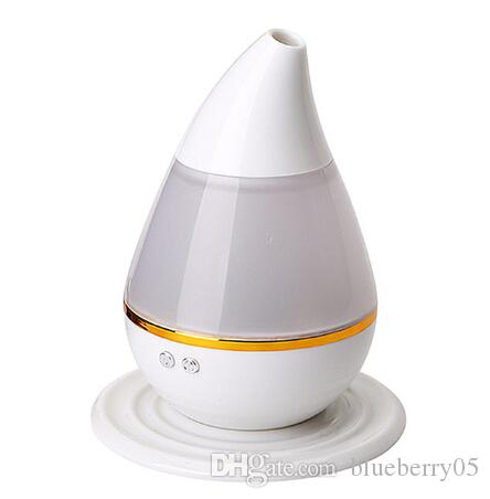 Hot Sale Electric Aromatherapy Air Humidifier Aromatic Essential Oil Diffuser Ultrasonic Mute Humidification Multicolor LED Humidifier