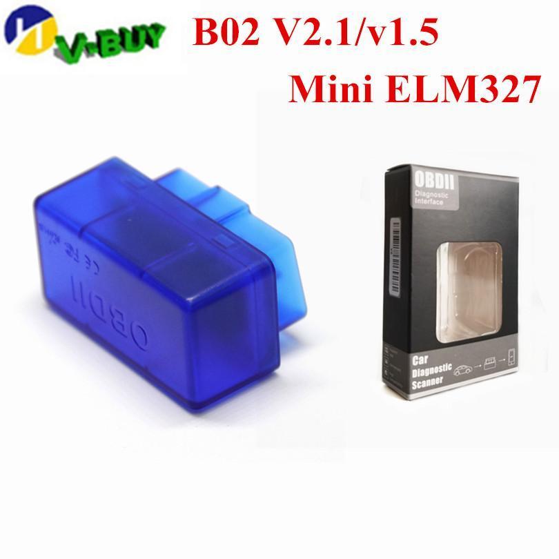 OBD2 블루투스 V01b2 슈퍼 미니 ELM327 V1 0.5 블루투스 어댑터 느릅 나무 327 자동 우수한 스캐너 진단 도구에 대한 안드로이드 V01l2