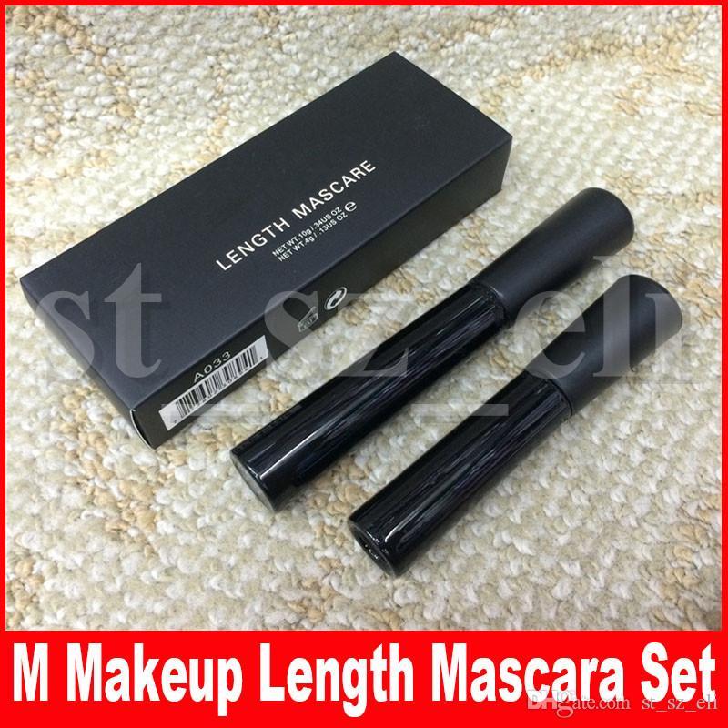 M Augen Make-up Set Kits 3D Faser Wimpern + Mascara Wasserdicht Schwarz Länge Wimpern Lange Wimpern Extensions Kosmetik Kit
