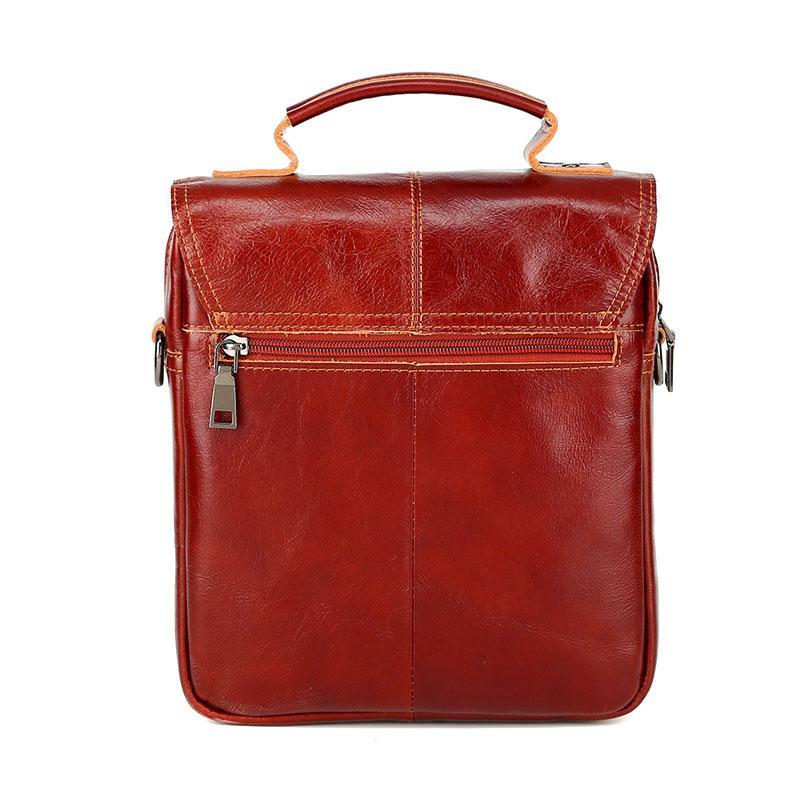 Diseñador-Nuevo estilo de los hombres hebilla del cuero genuino de la vendimia del bolso de hombro de la taleguilla del bolso de Crossbody