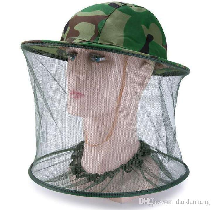 Outdoor Mosquito flies/&bug Insect Head Net Fish Camping Hunting Survival Gear