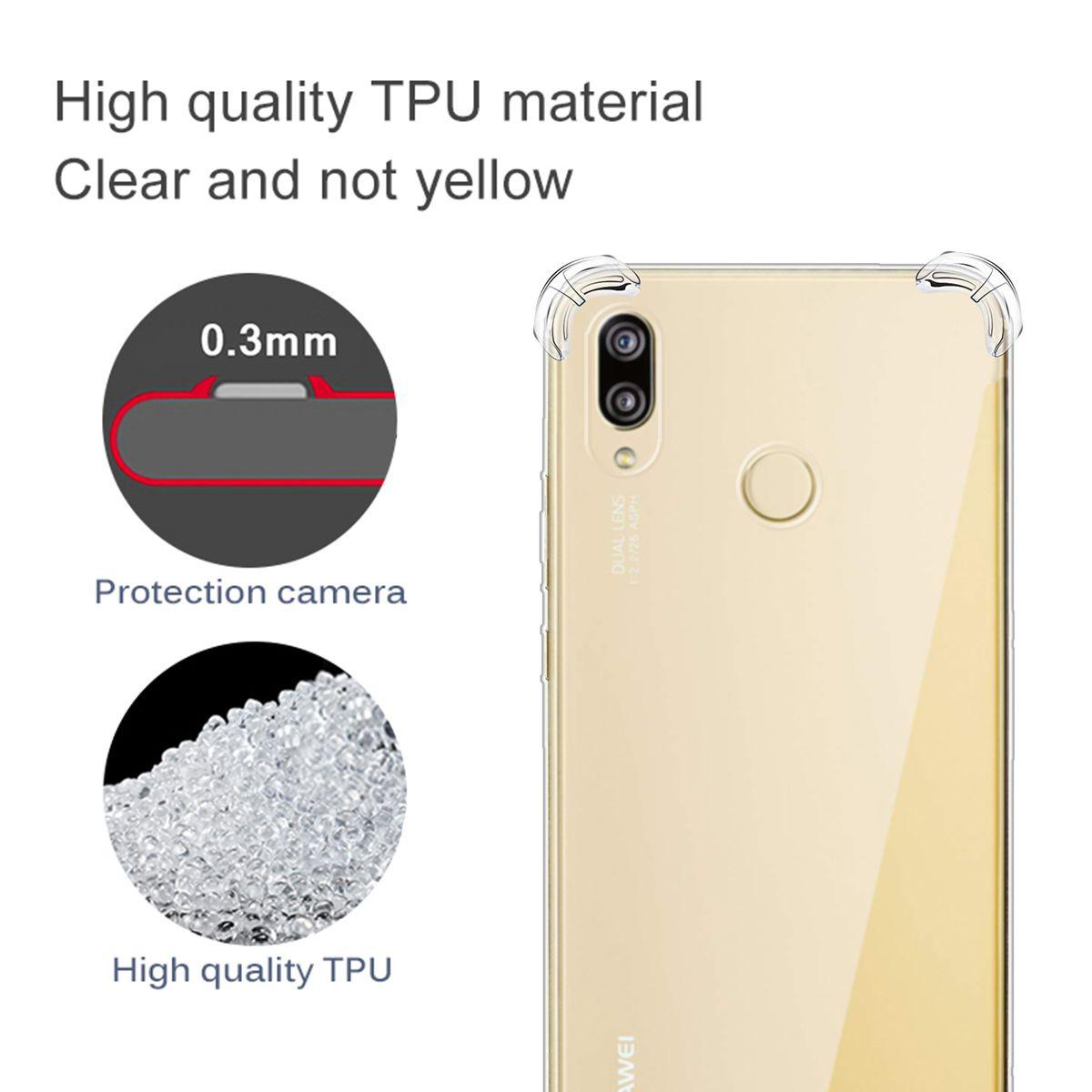 Coque En Silicone Transparente Antichoc Pour Huawei P20 / P20 Lite / P20 Pro / P30 / P30 Lite / P30 Pro Protection Arrière Lanière Proposé Par ...