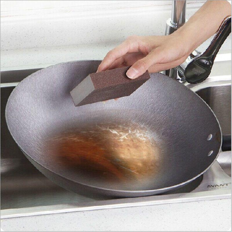 Esponja Magic Eraser para remover os suprimentos limpeza ferrugem Cotton Emery esponja melamina esponja de cozinha descalcificação Limpo