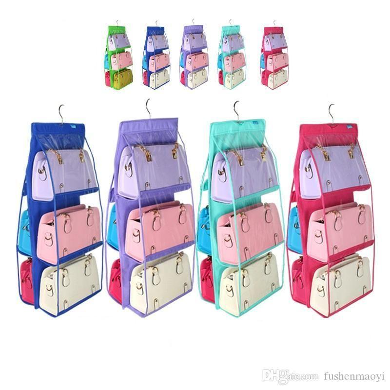 New Fashion Home Organizer Hook Suspension Storage holders Handbag racks Shoes Clothing Storage racks Wholesale DHL free