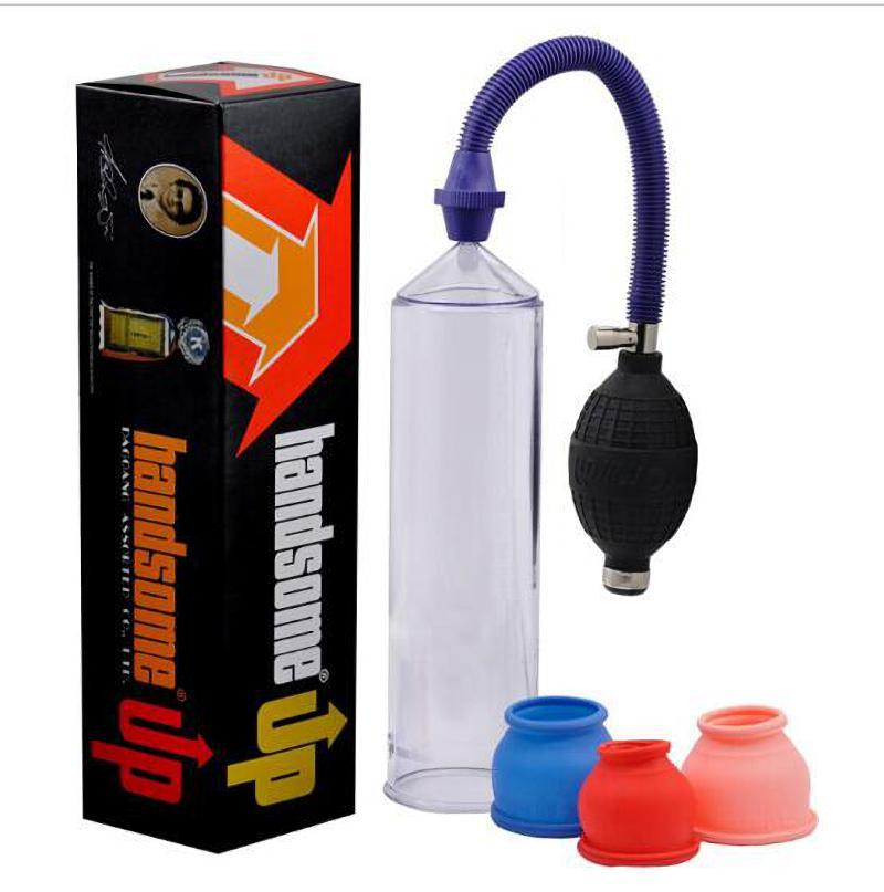 잘 생긴 최대 음경 펌프, 남성 진공 도움말 보, 남성 음경 익스텐더 Sext 장난감