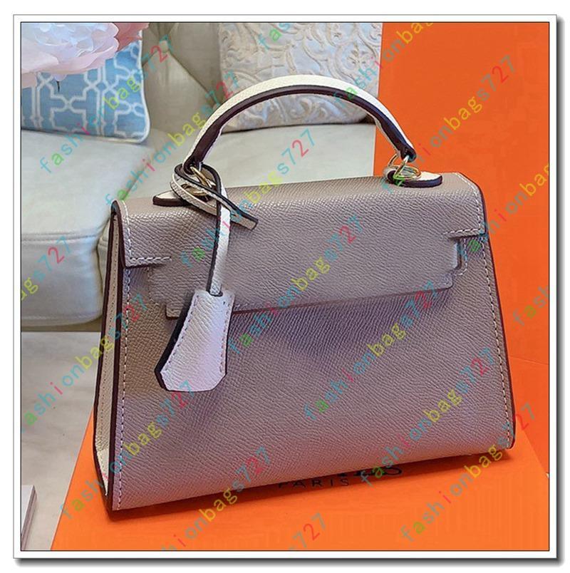 Luxury Classic Lady Mini Shell Bag Real Leather Designer Handbag Shoulder Women Messenger Clutch Bags Crossbody Purse Shopping Tote H 191031
