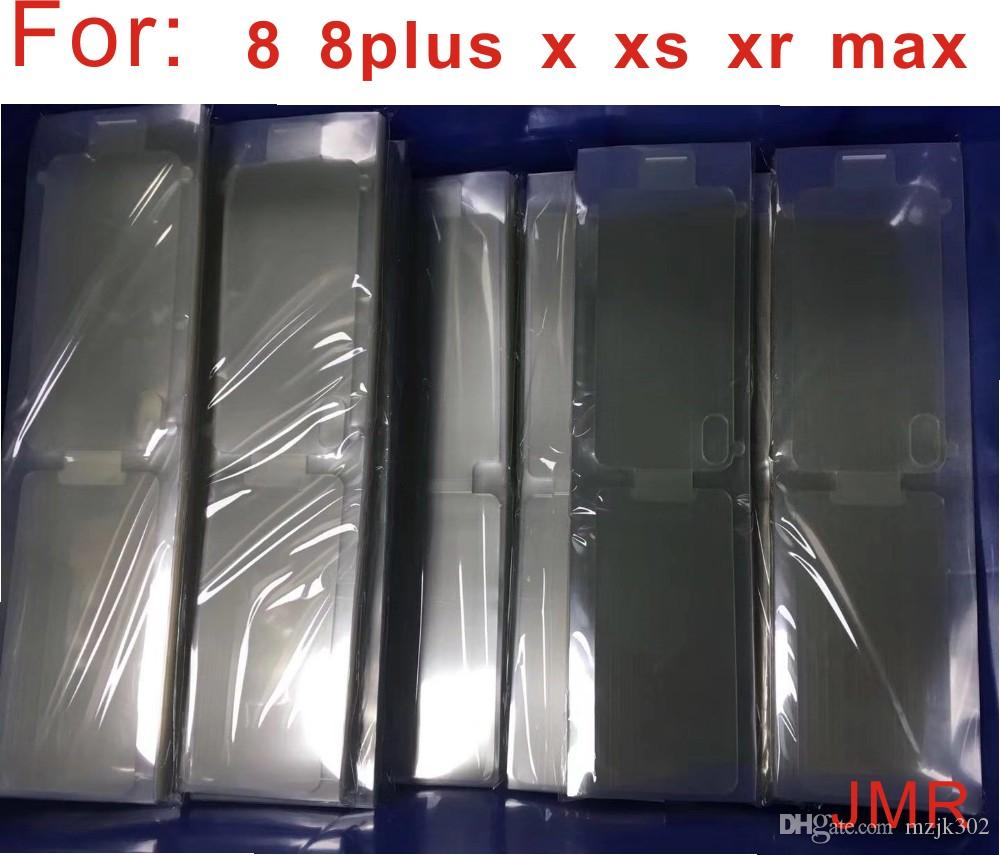 100pcs التي الجبهة الجديدة واقية مصنع السينمائي للحصول على 11 11pro 11max 5 6 7 8 6S زائد X XR XS MAX الشاشة الحرس حامي
