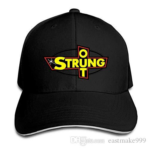 disar-t Strung Out Logo Unisex Ayarlanabilir Beyzbol Spor Outdoor Yaz Hat 8 Colors Hip Hop Gömme Cap Moda Caps