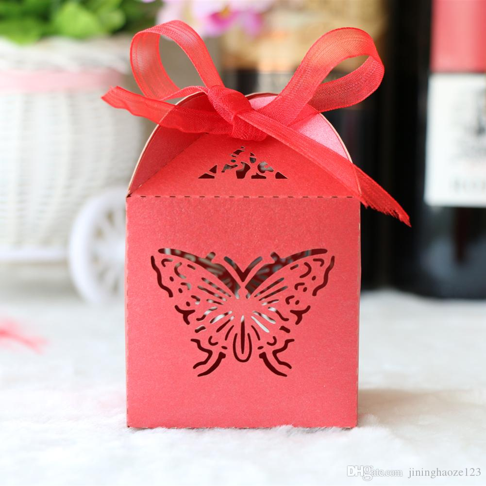 Custom Luxury Chic Hollow Butterfly Laser Cut Pearl Candy Chocolate Gift  Boxes Bridal Birthday Box With Ribbons Wedding Souvenirs Order Gift Bags  Online Order Wrapping Paper Online From Jininghaoze123, $0.34| DHgate.Com