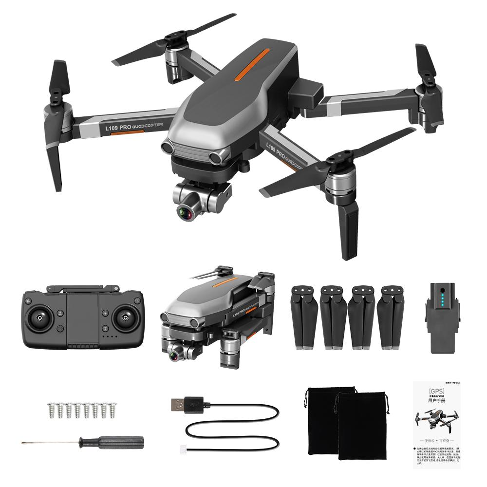 L109 PRO 4K Camera 5G WIFI Drone, 2 Axis Gimbal Anti-shake, Brushless Motor, GPS& Optical Flow Position, Smart Follow, VS SG906PRO F11, 2-1