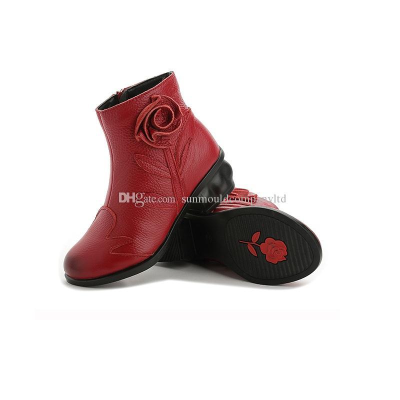 NOVITÀ stivali di design da donna di lusso Martin Desert Boot fenicotteri Love arrow medaglia 100% vera pelle di grossa taglia Peluche Scarpe invernali spedizione gratuita