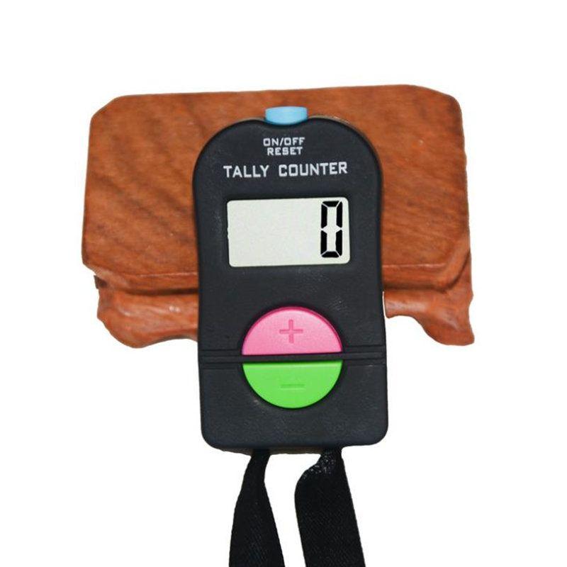 5PCS Hand elektronische Digital Tally Kostenzähler Clicker Sicherheit Sport Gym Schule addieren / subtrahieren MODEL schnelles Verschiffen