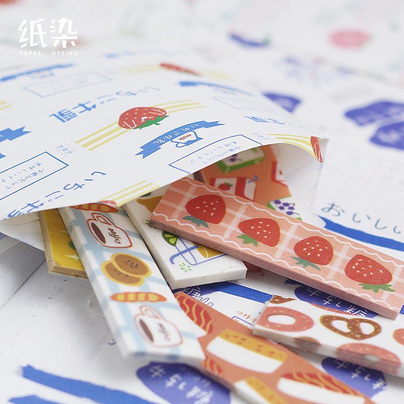 100 ПК / серия 24-час Конверты магазин серия бумаги милый конверт для карты Scrapbooking подарка
