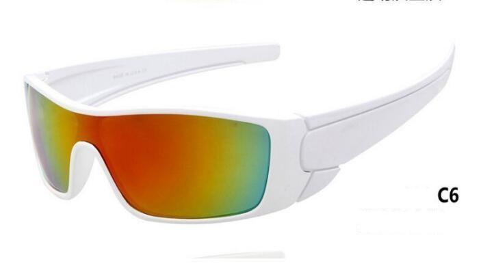 2020 نظارات شمسية نظارات رياضية في الهواء الطلق مرآة ركوب مرآة الأعمال الكهربائية التجارة الخارجية نظارات شمسية مسطحة