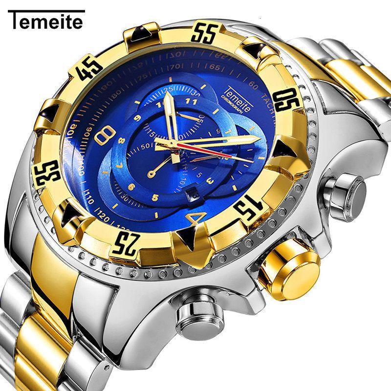 deportes mecánicos relojes automáticos nuevos relojes de pulsera de los hombres de la moda para hombre movimiento de la muñeca de acero Llevar diamante del cuarzo del reloj maestro de la venta caliente