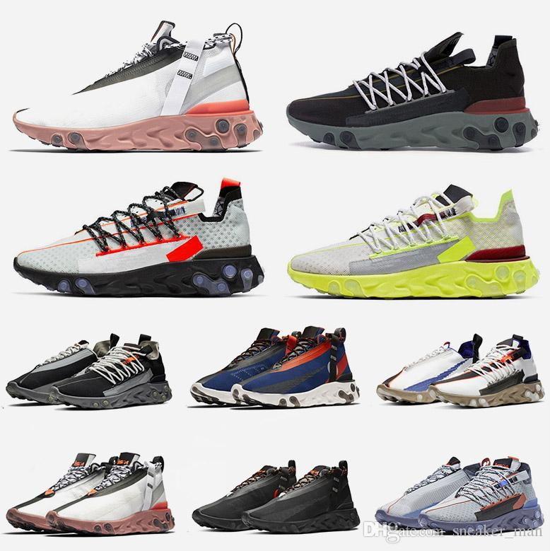 Mode Luxus Designer Damen Schuhe Epic React Ispa Platin Volt Light Crimson Gunsmoke Schwarz Anthrazit React LW WR Mid ISPA Herren Sneaker