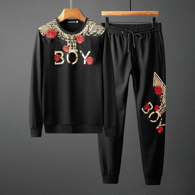 Осень Спортивные Костюмы Для Мужчин Пальто Костюмы Мода Мужчины Толстовки Кофты Мужская Одежда 0928002