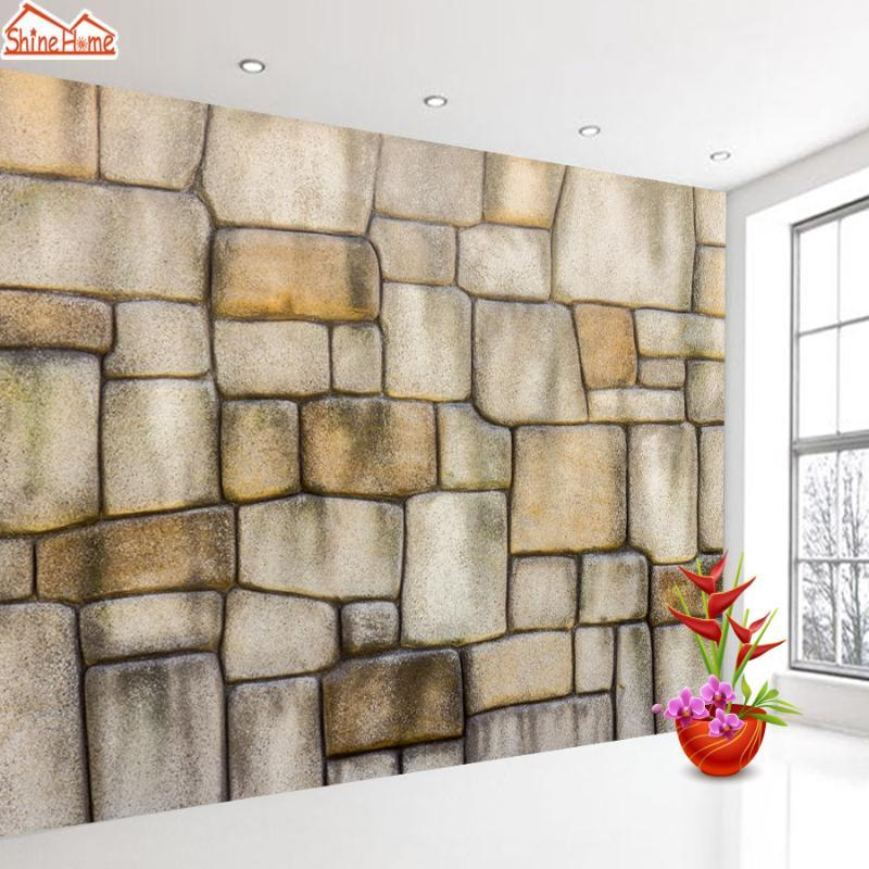 Tuğla Taş Desenli Duvar Kağıdı Duvar Kağıdı Kağıtları Ev Dekorasyonu İletişim Salon Duvar Kendinden yapışkanlı Resimleri Roll Duvar Kağıtları 3d