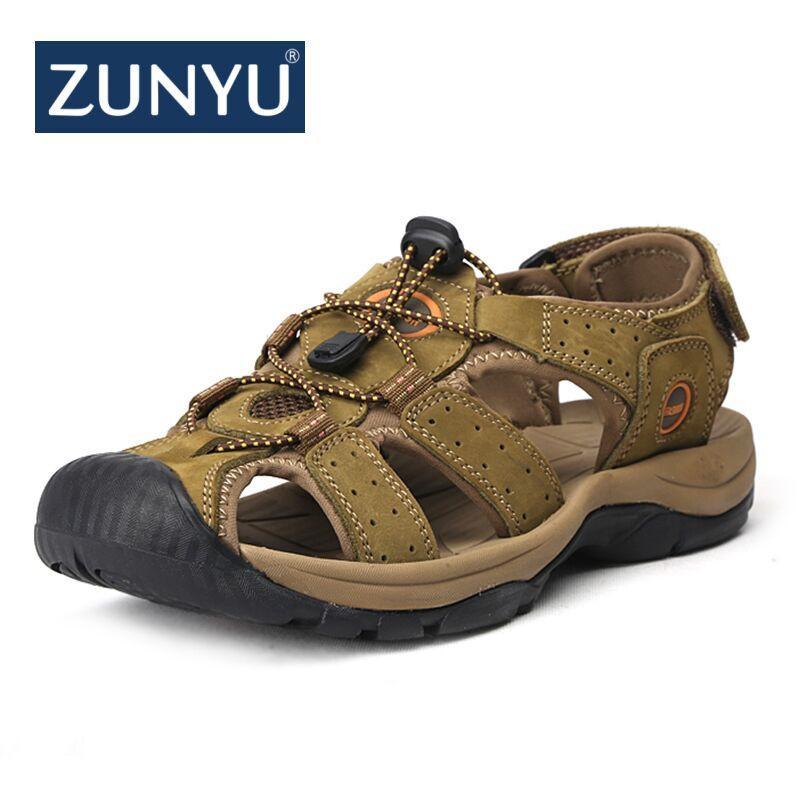 ZUNYU Genuine Leather Shoes Summer New