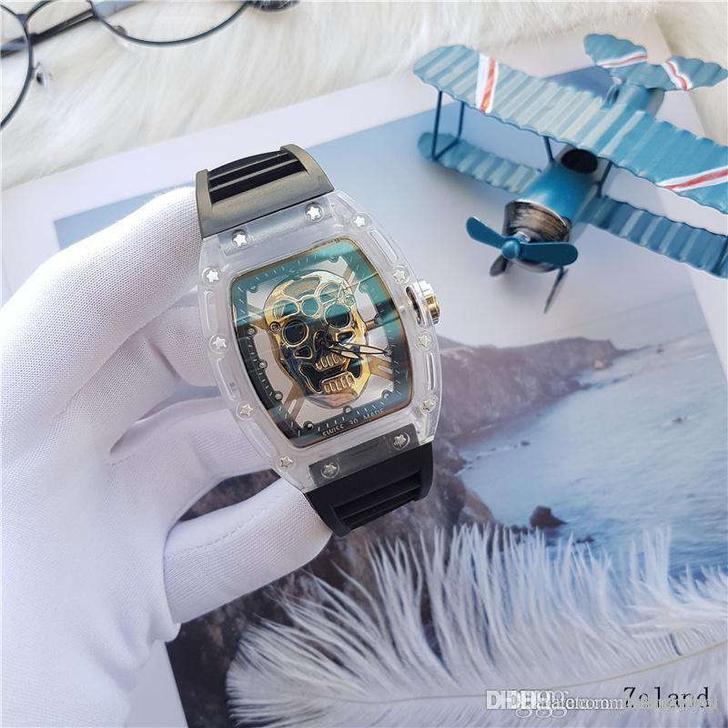 New High Quality Quartz Watch Hot Sale Big Bang Auto Date Ghost Transparent Shell Master Men Watch Montre Hommes Orologio Wrist Watches Online Wrist Watches Online Shopping From Dhxiexiaoy 13 2 Dhgate Com