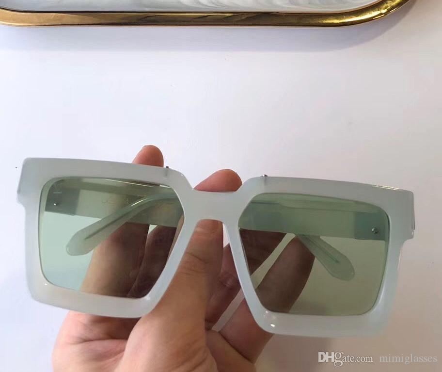 Солнцезащитные очки продают полный кадр Винтаж дизайнер 1165 солнцезащитные очки для мужчин миллионер золото блестящие горячие 96006 покрывают верхнее золото 1.1 qua fhbjd