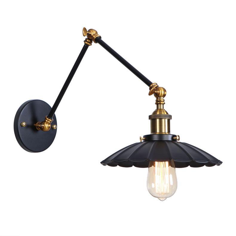 lâmpadas nórdicos quarto americano cabeceira arte do ferro bar retro decoração cabeceira lâmpada de parede
