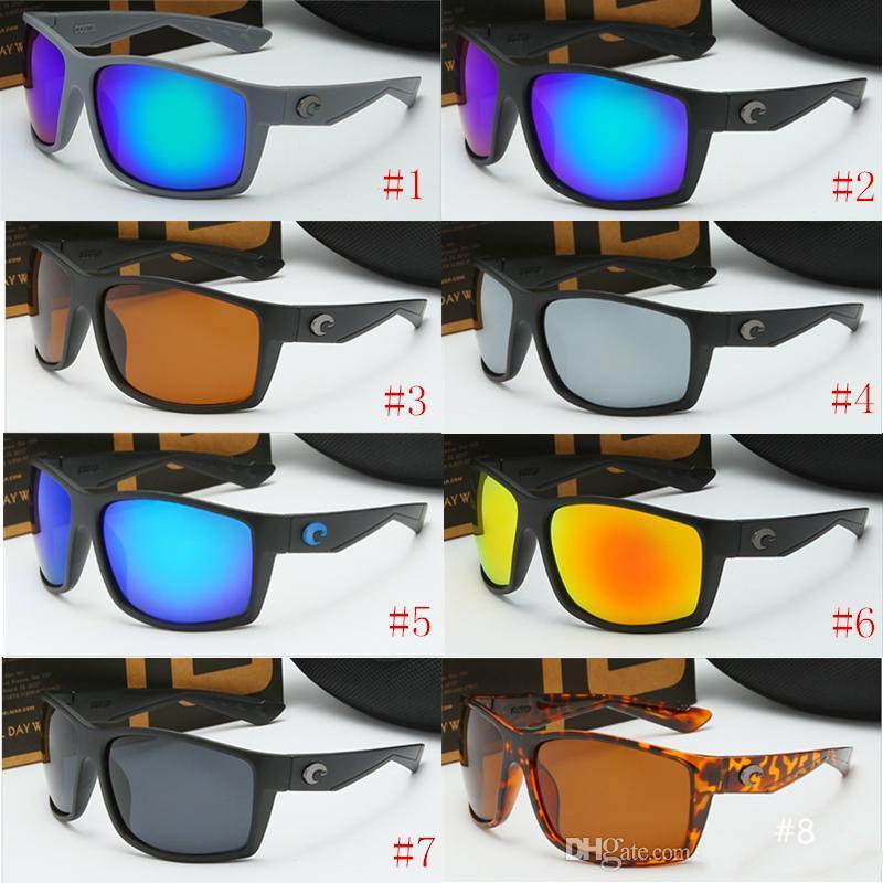 Señoras de las gafas de sol de diseño de lujo Costa Ciclismo polarizado gafas de sol UV-400 100% de playa de moda de protección de marca gafas de sol envío