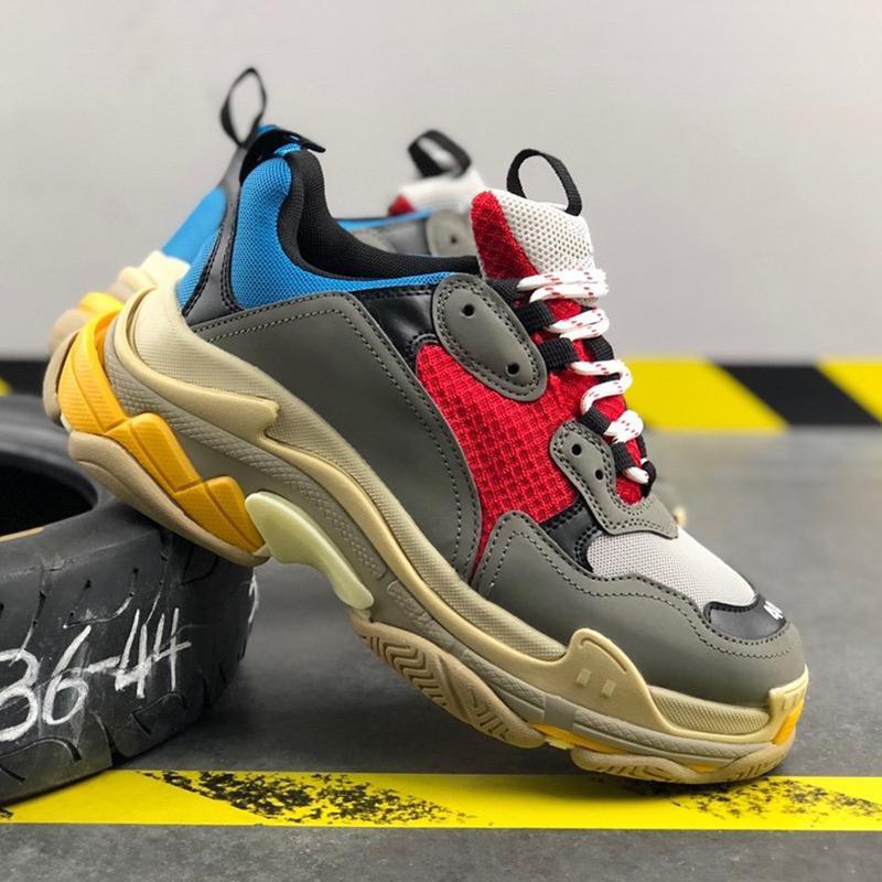 British Wind Fashion Luxury Designer Hommes Classique Respirant Chaussures Casual solide Gris Noir Rétro Formateurs Chaussures de course Taille 35-42