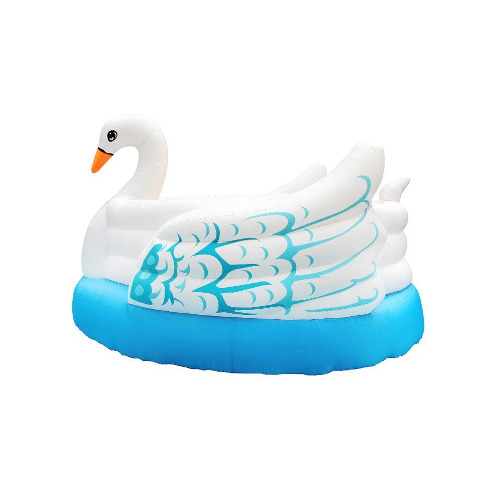 Swan Bouncer New Inflatable Bounce House Inflatable Play Jumping House Fun Moonwalks For Kids Play Popular Swan Bouncer With Air Blower