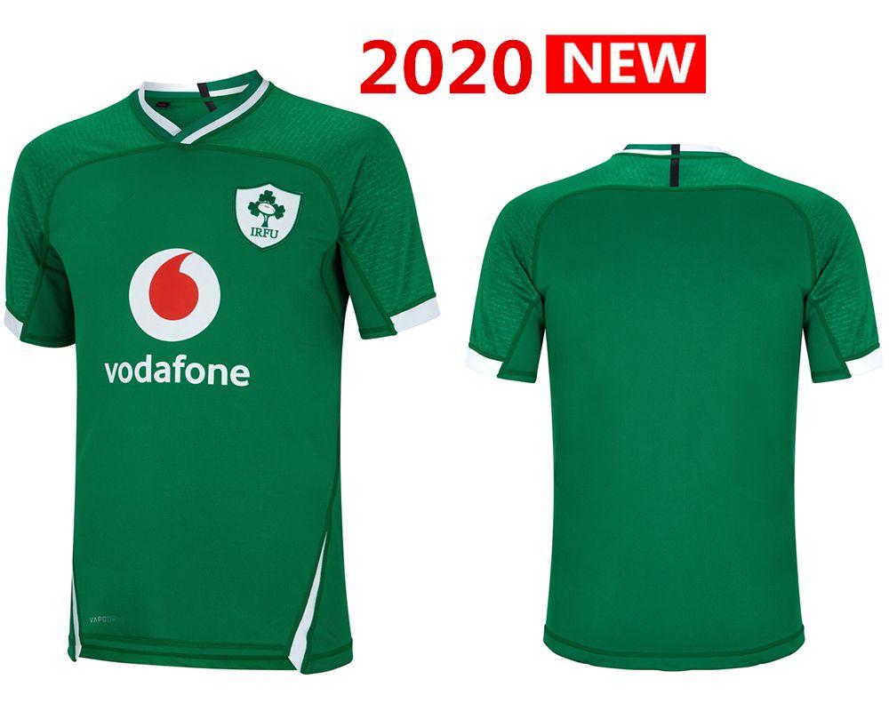 2020 Ирландия регби Джерси HOME Рубашка сборной ИРЛАНДИЯ регби трикотажных изделия s-3xl