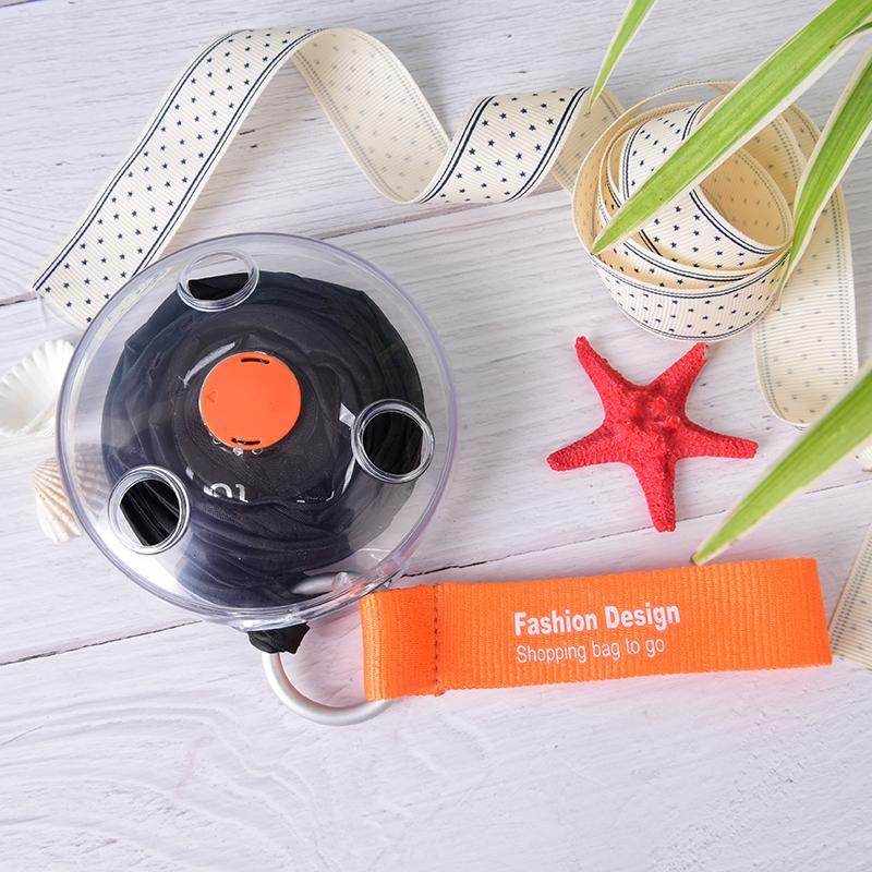 2020 Disc tragbare Einkaufstasche Kleine Disc faltender Aufbewahrungstasche Wiederverwendbare Okologisches Shopper Schulter tragbare Einkaufstasche