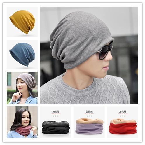 30 Disegni calda lavorata a maglia Beanie cotone Bandana Cappelli Dual Purpose protezione della sciarpa degli uomini delle donne Snood termiche invernali sci Escursioni in bicicletta cappelli esterni