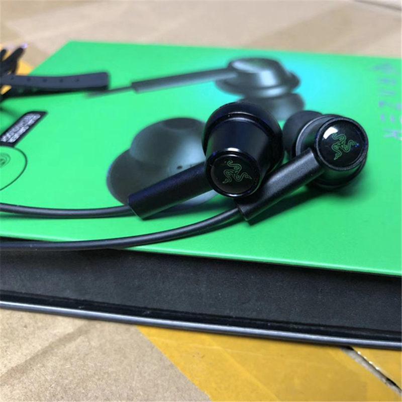 Razer Hammerhead Duo наушников Dual Driver Технология In-Ear Проводная гарнитура для Мощный полный спектр аудио epacket высокого качества