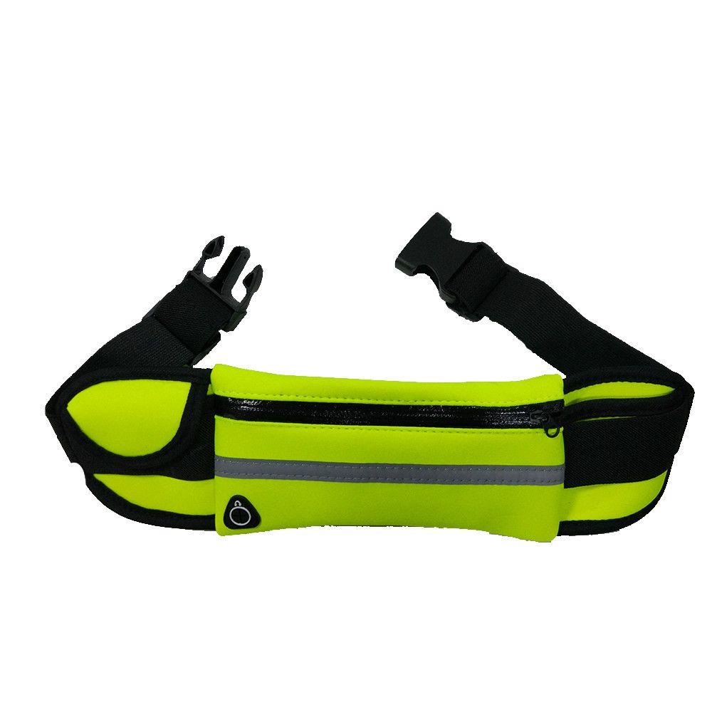 Bel Paketi Kumaş Su Geçirmez Neopren Katlanabilir Hidrasyon Açık Spor çanta kemer Spor Su Geçirmez Koşu Bel Paketi Çantası Giymek Için Spor