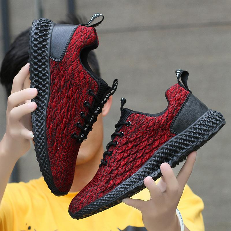 2020 New Shoes Fashion Breathable Sneaker Men's Casual Shoes Comfortable Non-slip Wear-resisting Sports Men's Jogging Shoes