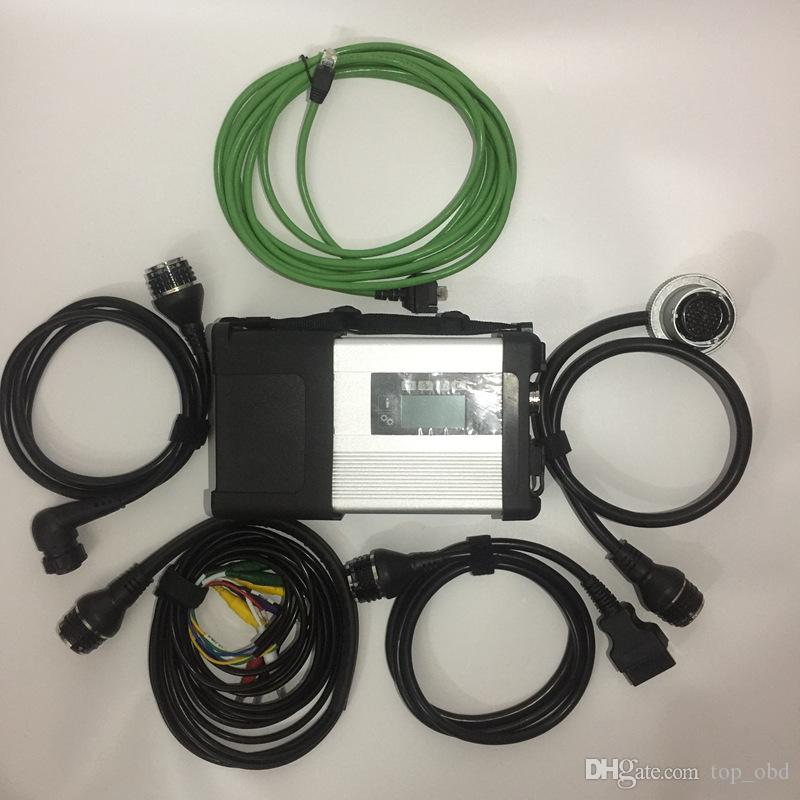 for MB Star C5 wifi MB SD Connect Compact 5 Diagnostic tool Newest for Cars and Trucks diagnostic with SSD HDD
