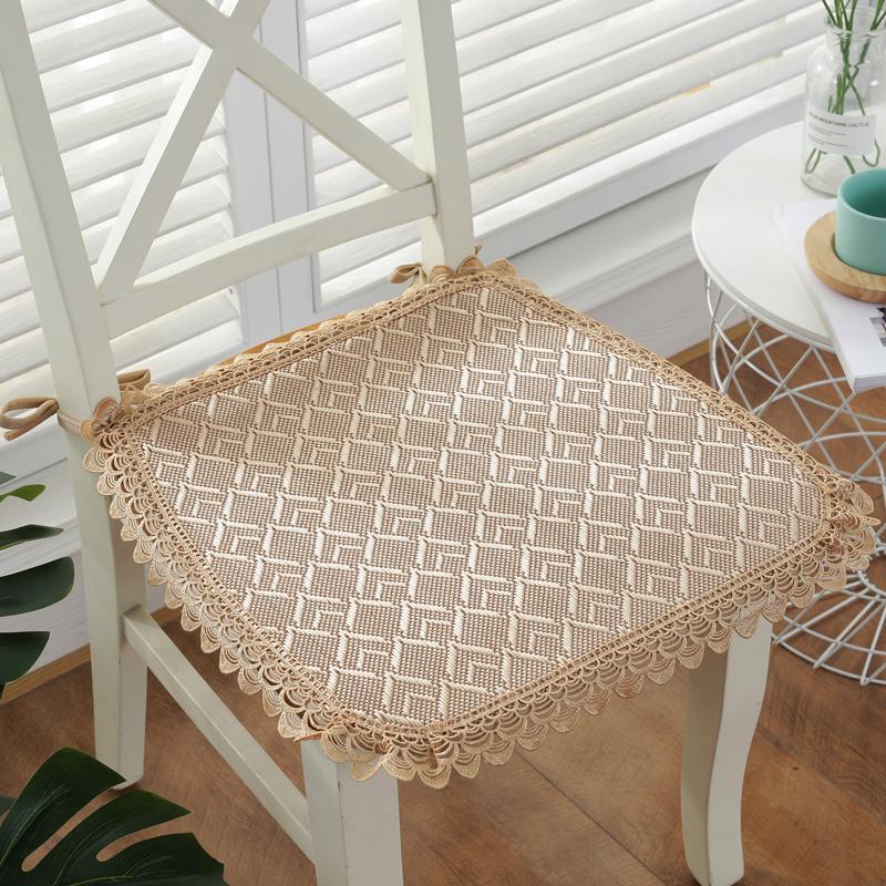 Été Respirant Chaise solide Coussin pour CHAISE Anti-Slip Siège Coussins tapis pour bureau Car Home Decor bon marché Coussins de