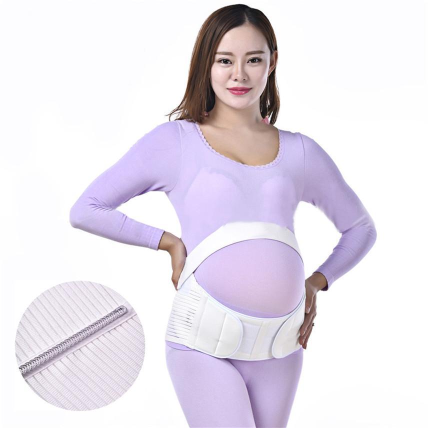 Articoli da regalo pancia Donne Cura Gravidanza maternità cintura di sostegno per la sicurezza della vita Addome banda Cinturones CEINTURES Soins Grossesse Y *