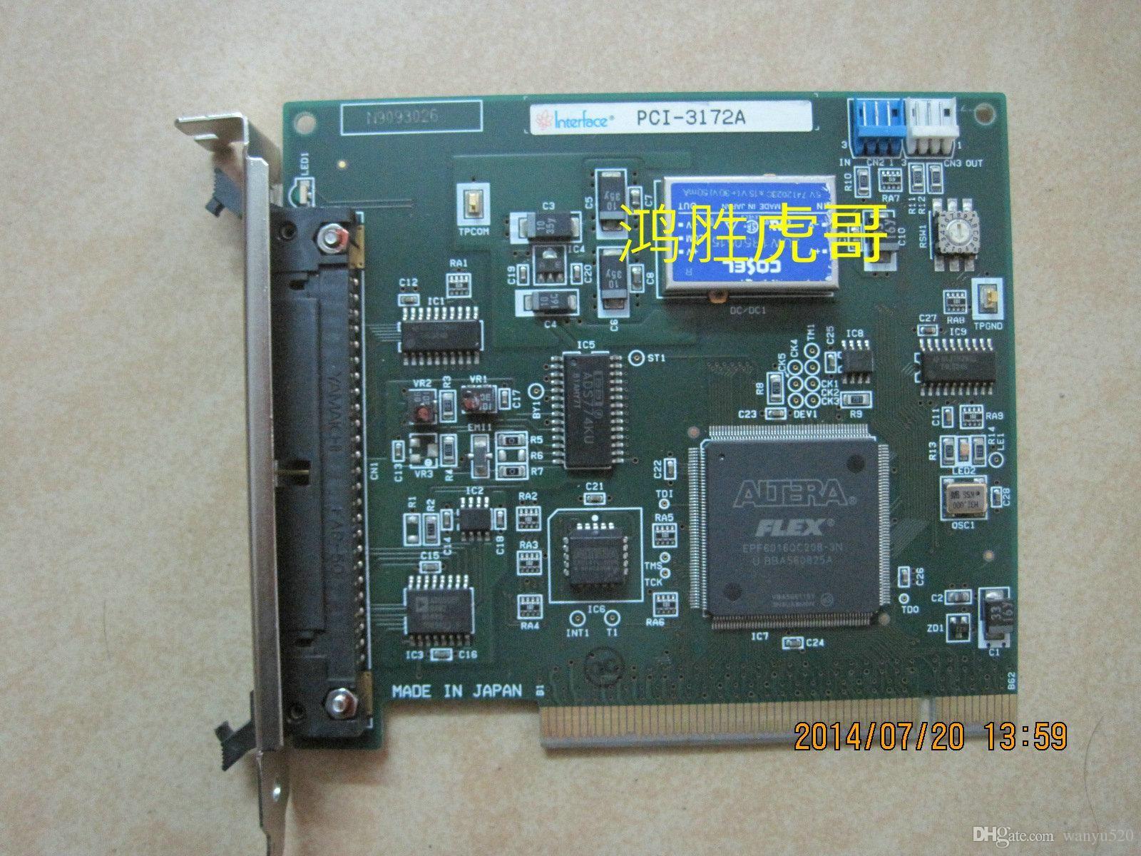 100% рабочий Оригинал для lnterface PCI-3172A