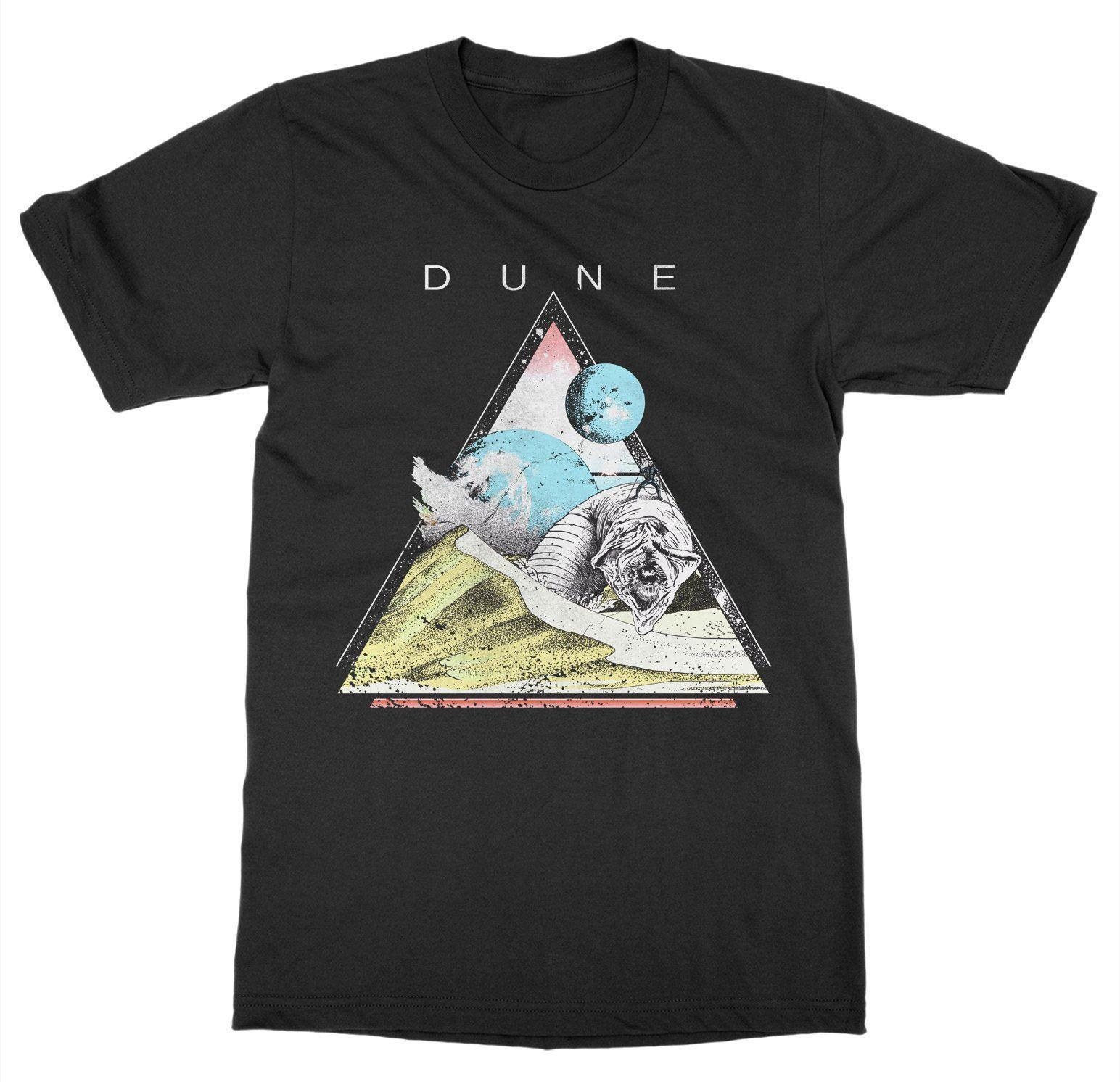 Dune T-Shirt Frank Herbert Book Classic Novel Gift Read Science Fiction SciFiFunny free shipping Unisex Casual Tshirt