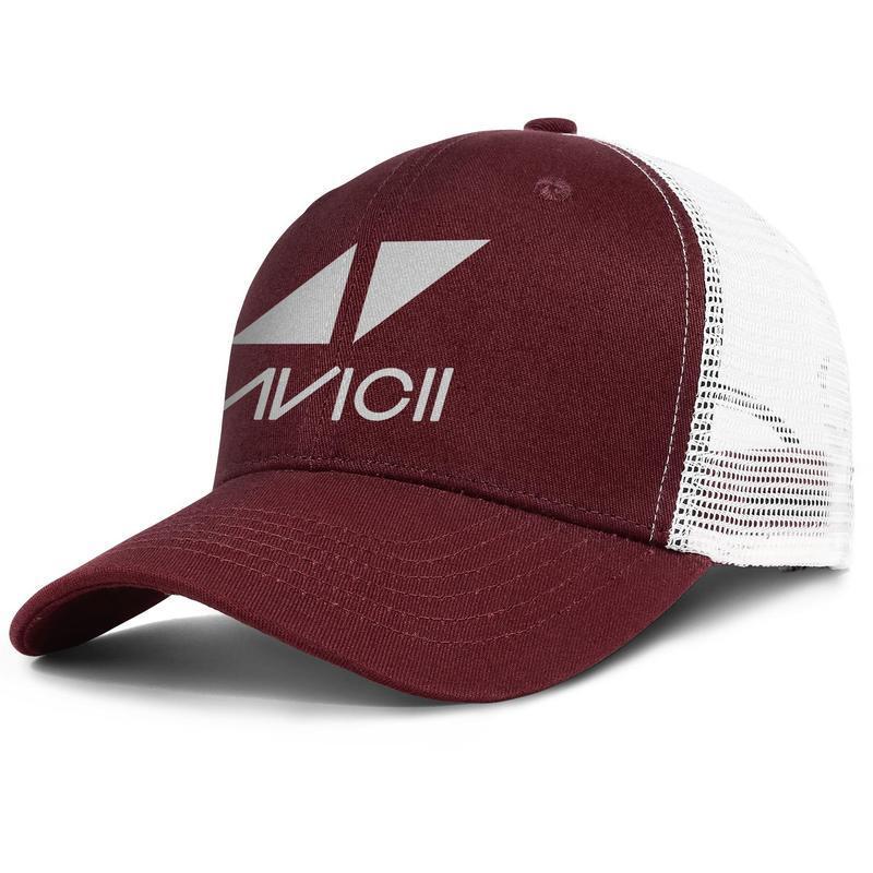 Super DJ Avicii logo army_green pour hommes et femmes casquette de camionneur créateur de styles de baseball conçoit ses propres chapeaux